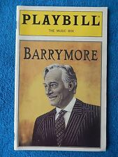 Barrymore - Music Box Theatre Playbill w/Ticket - Opening Nite March 25th, 1997
