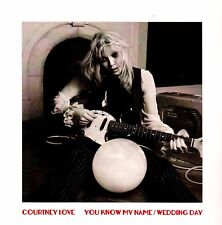 "Courtney Love-You Know My Name / Wedding Day-7"" Single-Neon Pink Coloured Vinyl"