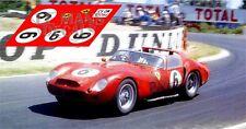 Calcas Ferrari 330 TRI Le Mans 1962 6 1:32 1:43 1:24 1:18 decals