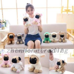 Lovely Plush Stuffed Pug Doll Soft Puppy Dog Shar Pei Toy Birthday Gift IN STOCK