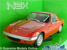 LOTUS ELAN CAR MODEL 1:24 SCALE RED WELLY OPENING PARTS LARGE 1965 COUPE K8