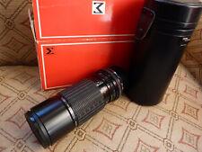 Vintage Sigma Zoom-K 1:4 .5 F = 100-200 mm Multi Coated lente para Olympus
