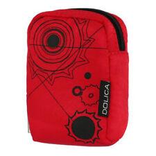 Dolica Designer Camera Case- For Slim Digital Cameras (Red)