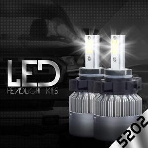 XENTEC LED HID 6000K Foglight kit 5202 12086 H16 GMC Sierra 2500 HD 2007-2016
