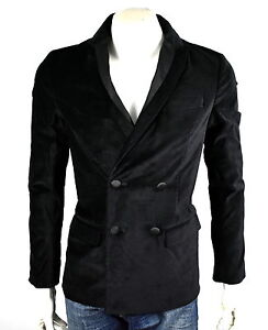 Armani Exchange A X $250 Men's Double Breast Velvet Blazer/Jacket - L6K900IC