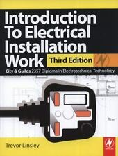 Introduction to Electrical Installation Work: City & Guilds 2357 Diploma in Elec