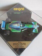Onyx 5014 fórmula 1 benetton ford b193b michael schumacher test car 1994 1/24