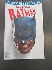 ALL STAR BATMAN #1 JETPACK COMICS FORBIDDEN PLANET VARIANT Scott Snyder DC HOT