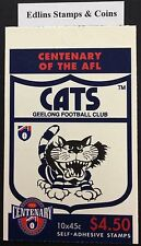 1996 centenary of AFL booklet - Geelong