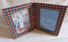 vera bradley double photo picture frame