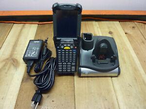 Symbol Motorola MC9190-GA0SWEQA6WR Wireless Barcode Scanner w/Charger , Battery