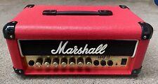 Marshall G15MS Lead Head 15 Watt Micro Stack Red