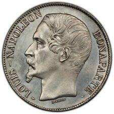 5 francs Louis-Napoléon 2ème type 1852 Paris PCGS UNC Non circulé