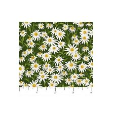 Floral Fabric - Naturescapes Abundant Garden Daisy Field - Northcott YARD