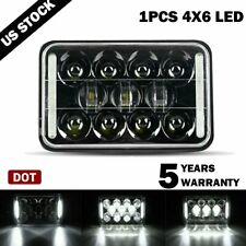 "1X 4x6"" DOT APPROVED LED Headlight DRL For Chevrolet S10 1997 1996 1995 R10 1987"