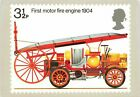 Very Rare Stamp Postcard No.6 1904 First Motor Fire Engine 1974 Kh1