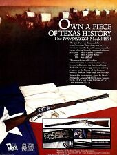 1994 WINCHESTER Model 1894 Texas Sesquicentennial Rifle & Carbine AD
