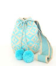 Wayuu Mochila Bag- Hand crocheted cotton Shoulder Bag