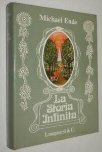 Michael Ende LA STORIA INFINITA Longanesi 1984 COPERTINA RIGIDA / TESTO BICOLORE