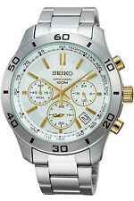SEIKO SSB051P1,Men's CHRONOGRAPH,STAINLESS STEEL CASE,100M WR,SSB051