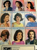 Limited Edition, JACKIE KENNEDY PLATE BLOCK LEGAL TENDER STAMPS >Collect Society
