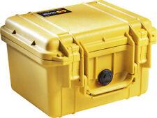 PELICAN WATERPROOF CASE YELLOW  NEW IN BOX