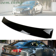 STOCK USA Painted #202/212 For LEXUS IS250 IS220D ABS WINDOW ROOF SPOILER