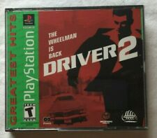 Driver 2 (Sony PlayStation 1, 2000) Greatest Hits