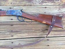 """1 1/4"""" Leather Rossi 92 Gun Sling   NO DRILL SLING for The Rossi 92 Rifle Only"""
