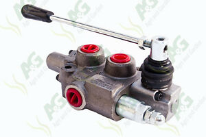 """Hydraulic Spool Valve 3/8"""" BSP Double Acting, Ideal For Log Splitters"""