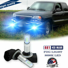 2x Ice Blue 2Smd Led Fog Driving Light Bulbs Upgrade For Gmc Sierra 1500 1999-06(Fits: Neon)