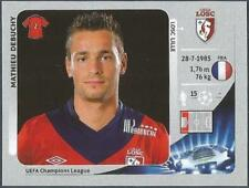 PANINI UEFA CHAMPIONS LEAGUE 2012-13- #415-LILLE-MATHIEU DEBUCHY