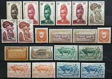 Cameroun Stamp Collection w/ Back of Book 1916-1947 Lot of 20 MINT OG H