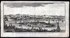 AVIGNON - schöne Gesamtansicht Kupferstich um 1750 - Original!!