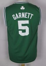 GARNETT #5 BOSTON CELTICS NBA BASKETBALL JERSEY YOUTHS LARGE ADIDAS