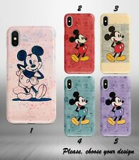 Mickey Mouse case for iphone 11 pro max XR X XS SE 2020 8 7 plus 6 5 + SN