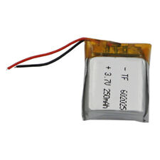 3.7V 250 mAh Polymer Li Battery 602025 For smart watches Headset car navi GPS