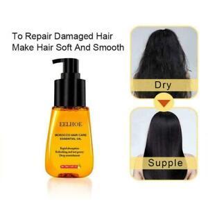 70ml Moroccan Pure Argan Oil Hair Essential Oil For Frizzy E8F7 Dry Hair W7U1