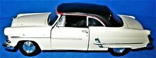 Welly 1/39 Scale 42381 Cream and Black 1953 Ford Crestline Sunliner
