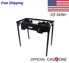 Propane Double Burner Outdoor Grill 150,000 BTU by Gas One *NEW