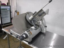 "Hobart Commercial 2612 Manual Slicer 12"" blade sharpener not included"