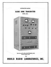 Globe King Transmitter 500 A 500A Manual