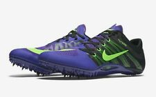 Nike Zoom Ja Fly 2 Track Spikes Men's US 12.5 Purple Green 705373-035 NEW $125