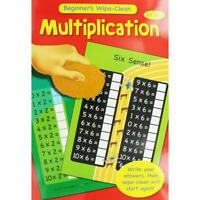 Beginners Wipe Clean Multiplication Book 5-7 Years Educational Home Learning Kid