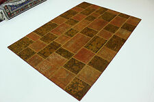 moderne Patchwork Délavé Used Look PERSAN TAPIS tapis d'Orient 2,95 x 2,00