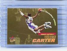 2000-01 Fleer Ultra Vince Carter Gold Medallion Edition #16 Raptors C95