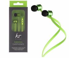 genuine KitSound Samsung Headset Headphon Handsfre Compatible for Apple iPhone