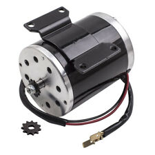Electric Motor For Scooter Bike Go Kart Minibike 500w 24v Dc 267 A New