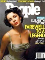Elizabeth Taylor Magazine People Tribute 2011 MT Liz Cleopatra Movie Press Photo