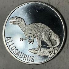 Allosaurus 1 Ounce .999 Silver Bullion Round #Sr11